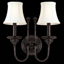 Hudson Valley 8712-AGB - 2 Light Wall Sconce
