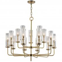 Hudson Valley 3930-AGB - 15 Light Chandelier